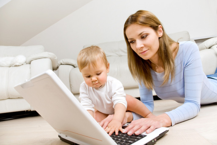 Работа в декретном отпуске и отпуске по уходу за ребенком